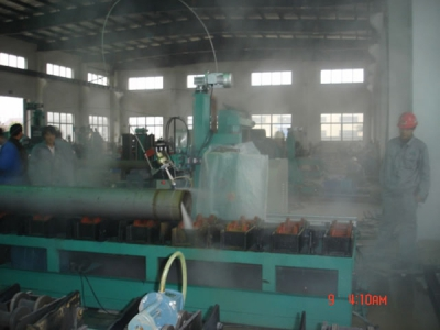 High Pressure Water Jet Cutting and Beveling Machine
